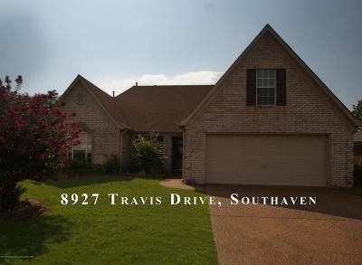 Desoto County Single Family Home For Sale: 8927 Travis Drive