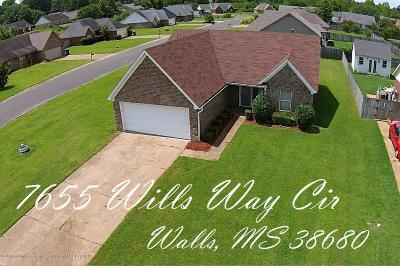 Walls Single Family Home For Sale: 7655 E Wills Way Circle