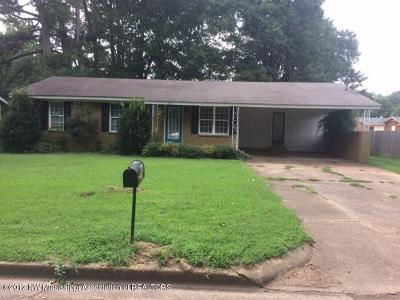 Tate County Single Family Home For Sale: 503 Camille Street