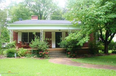 Tate County Single Family Home For Sale: 207 E Gilmore