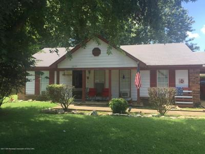 Horn Lake MS Single Family Home For Sale: $68,900