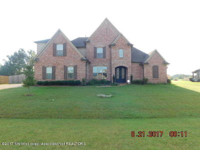 Olive Branch MS Single Family Home For Sale: $294,900