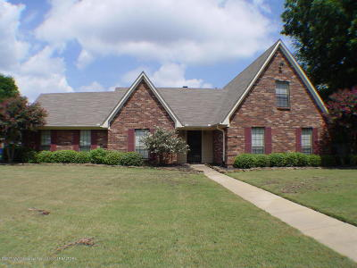 Olive Branch MS Single Family Home For Sale: $175,000