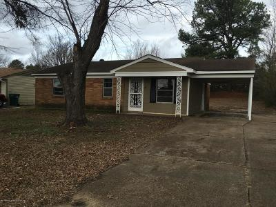 Southaven MS Single Family Home For Sale: $74,900