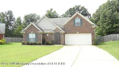 Southaven MS Single Family Home For Sale: $195,000