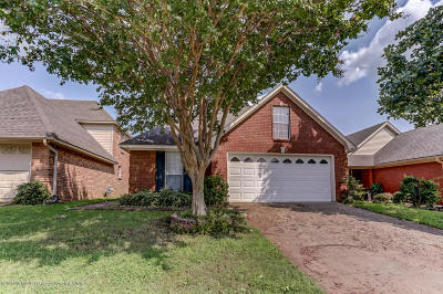 Southaven Single Family Home For Sale: 7802 Davis Parkway