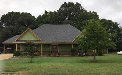 Tate County Single Family Home For Sale: 195 Justin