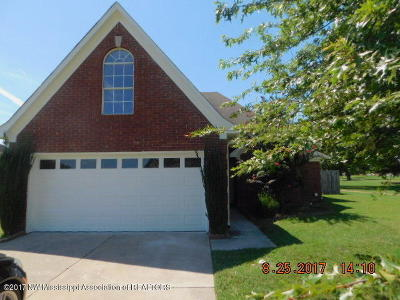 Walls Single Family Home For Sale: 7727 Cassidy