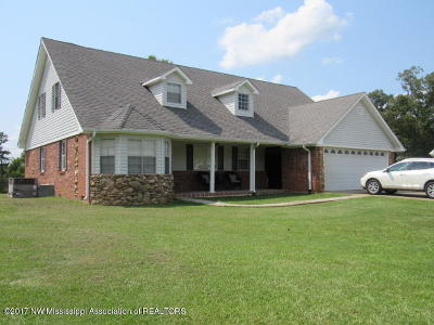 Potts Camp Single Family Home For Sale: 100 Overton School Road