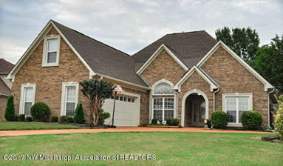 Southaven Single Family Home For Sale: 1980 Enclave
