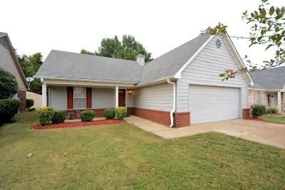 Horn Lake Single Family Home For Sale: 2974 Connor Reed