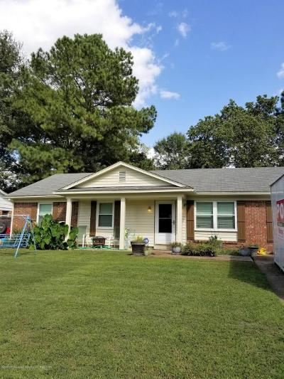 Southaven Single Family Home For Sale: 8494 Cedarbrush
