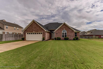 Olive Branch Single Family Home For Sale: 10579 3 Wishes