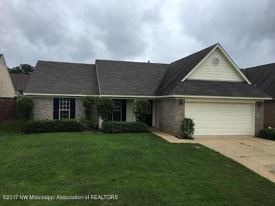 Southaven Single Family Home For Sale: 8140 Martin Drive