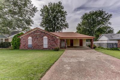 Horn Lake Single Family Home For Sale: 5531 Pravin Drive
