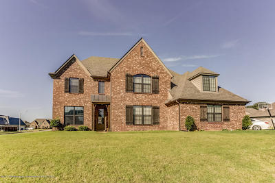 Olive Branch Single Family Home For Sale: 8580 Oak Grove Boulevard