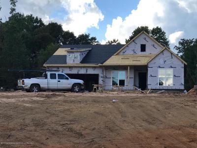 Byhalia Single Family Home For Sale: 12 Valley Cove