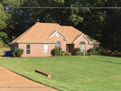 Horn Lake Single Family Home For Sale: 7910 Holly Ridge Drive