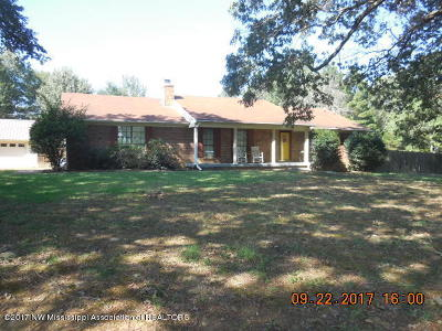 Tate County Single Family Home For Sale: 20759 Hwy 4 East