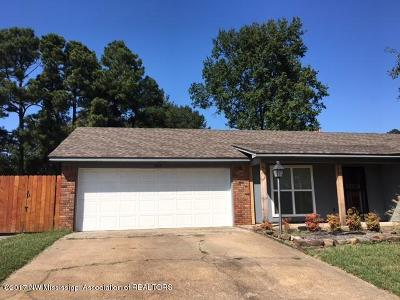 Southaven MS Single Family Home For Sale: $117,000