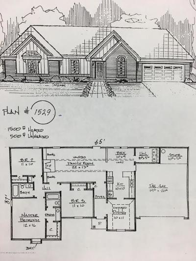Tate County Single Family Home For Sale: 42 Pigeon Roost Road