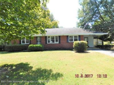 Southaven Single Family Home For Sale: 1563 Willard Drive