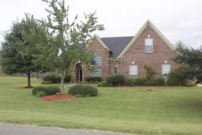 Horn Lake Single Family Home For Sale: 7607 Redberry Drive
