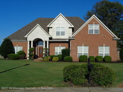 Southaven Single Family Home For Sale: 4668 Golden West