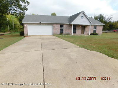 Tate County Single Family Home For Sale: 100 Flower