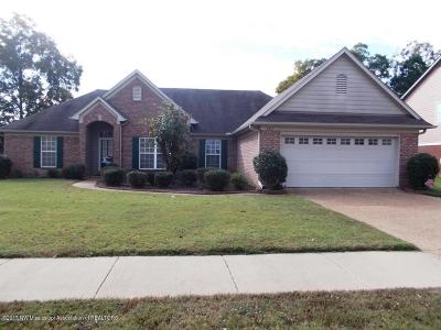 Olive Branch Single Family Home For Sale: 6411 Saddletrail