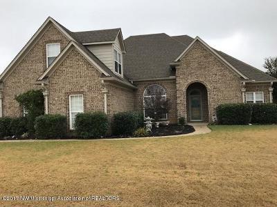 Desoto County Single Family Home For Sale: 3711 Daffodil