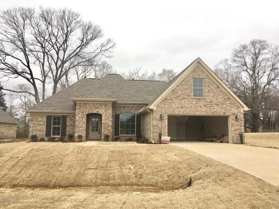 Tate County Single Family Home For Sale: 104 Creekside Drive