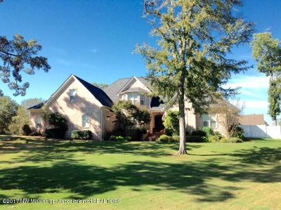 Tate County Single Family Home For Sale: 100 Marshall Cove