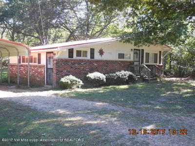 Tate County Single Family Home For Sale: 722 Dougherty