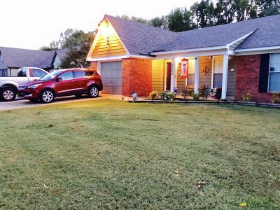 Horn Lake Single Family Home For Sale: 6585 Dunbarton