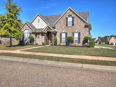 Southaven MS Single Family Home For Sale: $209,900