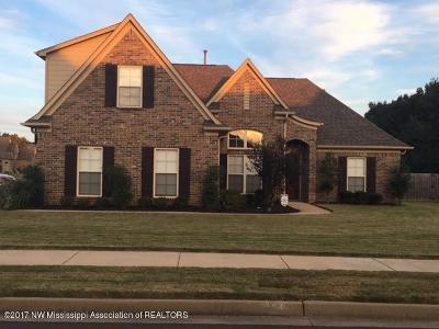 Hernando MS Single Family Home For Sale: $229,900