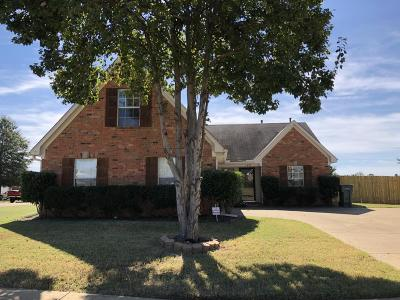 Southaven MS Single Family Home For Sale: $149,900