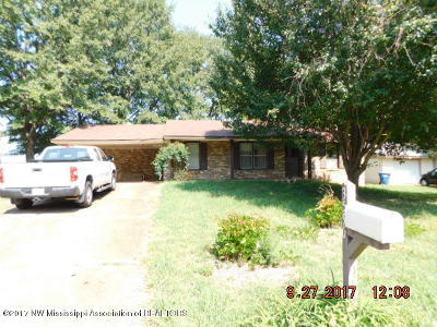 Horn Lake MS Single Family Home For Sale: $50,000