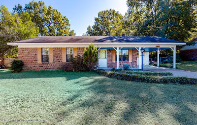 Desoto County Single Family Home For Sale: 5837 Nail Road