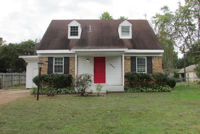 Desoto County Single Family Home For Sale: 1849 Mississippi Valley Boulevard