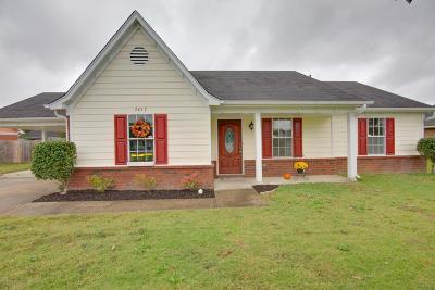 Desoto County Single Family Home For Sale: 7417 Jennifer Drive