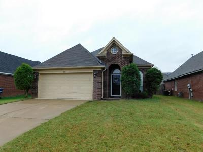 Horn Lake MS Single Family Home For Sale: $125,000