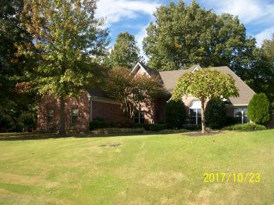 Olive Branch Single Family Home For Sale: 8256 Mellen Drive
