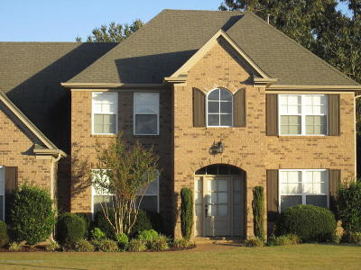 Olive Branch Single Family Home Active/Contingent: 7780 Emily Hill