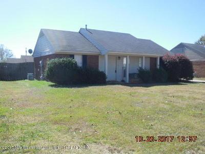 Tate County Single Family Home For Sale: 114 Orange