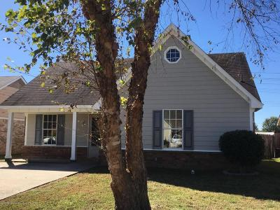 Horn Lake Single Family Home For Sale: 2925 Churchwell Drive