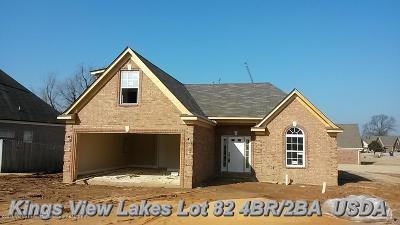 Horn Lake Single Family Home For Sale: 6227 Lakefront Drive