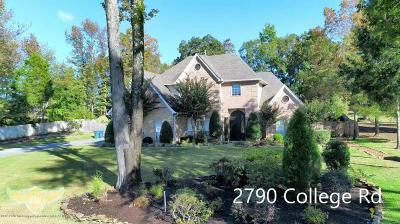 Desoto County Single Family Home For Sale: 2790 College Road