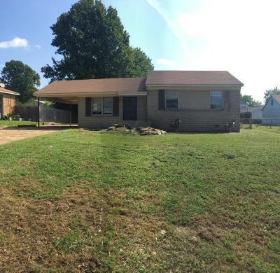 Southaven Single Family Home For Sale: 9034 Moss Point